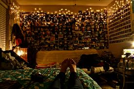 teenage bedrooms with lights