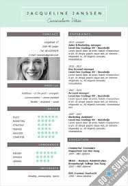 Powerpoint Resume Creative Cv Template In Word And Powerpoint 3 Color U2026 Resume