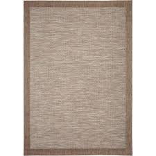 Home Depot Area Carpets Orian Rugs Shoreline Border Gray 5 Ft 1 In X 7 Ft 6 In Stripes