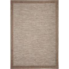 orian rugs shoreline border gray 5 ft 1 in x 7 ft 6 in stripes
