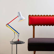 Red Desk Light Type 75 Mini Desk Lamp Paul Smith Edition By Anglepoise Ylighting