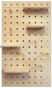 peg board peg it all pegboard in natural birch plywood the maker place