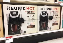 target black friday 2017 keurig keurig k50 coffee maker only 61 94 at target reg 109 99