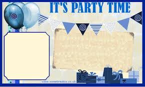 free boy birthday invitation template u2013 orderecigsjuice info