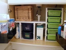 kitchen sink storage ideas the sink organization bathroom and kitchen organizing tips