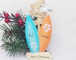 surfboard ornament etsy
