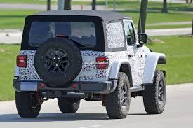 jeep renegade targa top 2018 jeep wrangler jl jlu packs 368 hp from 2 0l hurricane turbo