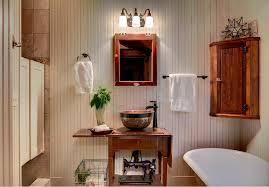 mirrored medicine cabinet fashion minneapolis rustic bathroom