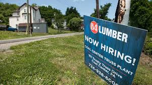 lumber84 com companies add more jobs than forecast adp data show transport