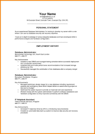 profile resume exles personal profile one exles for highschool student customer