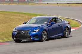 rcf lexus 2016 lexus rc f 0 60 quarter mile numbers clocked motor trend wot