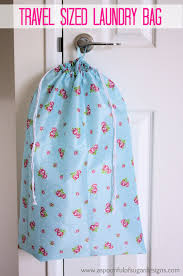 travel laundry bag images How to make a laundry bag a spoonful of sugar jpg