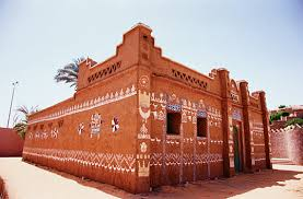 Distinctive House Design And Decor Of The Twenties Saudi Aramco World The Decorated Houses Of Nubia