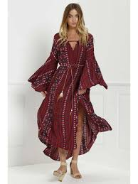 tribal dress bell sleeve tribal pattern print dress sleeve dresses s
