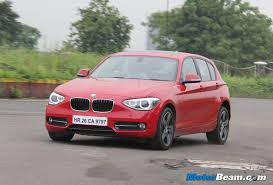 bmw one series india 2013 bmw 1 series test drive review