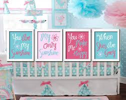 Pink And Aqua Crib Bedding Etsy Item Spotlight Decorating The Nursery Aqua And Pink Baby