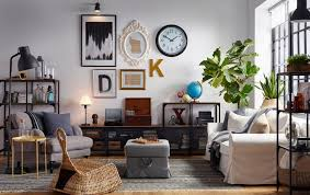 eclectic furniture and decor home designs living room decor ikea eclectic living room with