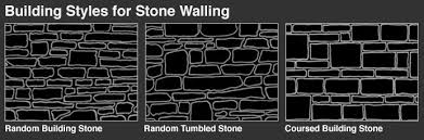 How To Build A Stone by How To Build A Stone Wall Black Mountain Quarries