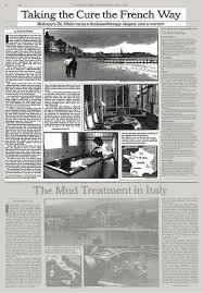 bureau de change malo taking the cure the way the york times