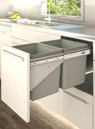 kitchen cabinet waste bins kitchen cabinet trash bins fine kitchen cupboard waste bins 1