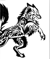 cool tribal designs to draw wolf o e tatodonkey tato design