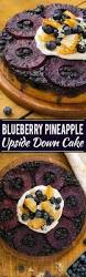 blueberry pineapple upside down cake recipe pineapple upside