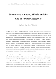 ecommerce amazon alibaba and the rise of virtual currencies pdf