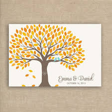 wedding tree guest book shop fall wedding guest books on wanelo