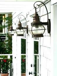 Exterior Light Fixtures Copper Exterior Light Fixtures Wanderfit Co