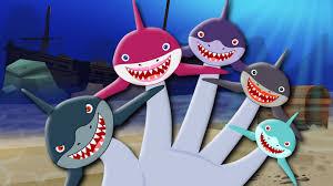 finger family shark finger family sharks kids songs finger
