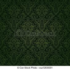 dark vintage wallpaper dark green vintage wallpaper vector clipart search illustration