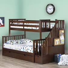 Costco Childrens Furniture Bedroom Staircase Storage Bed I Like The Railing On The Staircase For