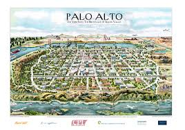 Silicon Valley Map Palo Alto U2013 The Birthplace Of Silicon Valley U0027 Kirby Scudder
