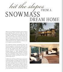 Home Journal Interior Design by Runa Novak Western Home Journal Aspen Home