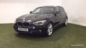 bmw 1 series 118d sport black 2015 youtube