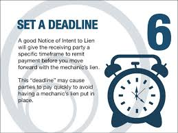 8 ways a notice of intent to lien works to get you paid