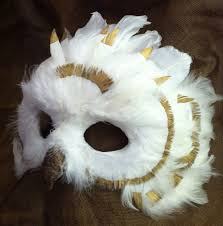 Snowy Owl Halloween Costume 25 Owl Mask Ideas Felt Mask