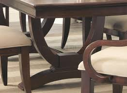 Coaster Dining Room Sets Alyssa Dining Table In Dark Cognac By Coaster W Options