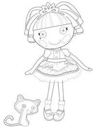 lalaloopsy dolls coloring pages lalaloopsy printing