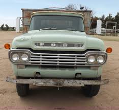 Vintage Ford F600 Truck Parts - 1959 ford f600 grain truck item h1952 sold may 14 ag eq