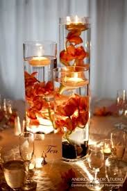 water centerpieces 23 vibrant fall wedding centerpieces to inspire your big day