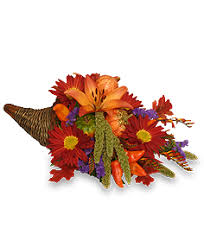 bountiful cornucopia thanksgiving bouquet in richmond va wg