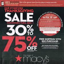 macy s thanksgiving 2015 ad blackfriday
