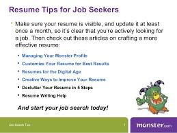 Monster Com Resume Search How To Use Monster Com U0027s Search Features To Find A Job