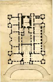 Fantasy Floor Plans Architect U0027s Plan Of Loudoun Castle 1805 Principal Floor