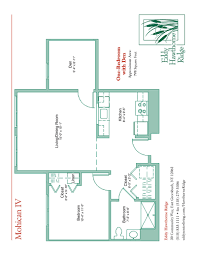 7 X 10 Bathroom Floor Plans by Floor Plans For The Senior Apartments At Eddy Hawthorne Ridge In