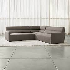 Corner Sectional Sofa Corner Sectional Sofas Crate And Barrel