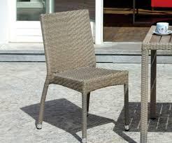tavoli da giardino rattan la linearità design moderno l estetica pari a quella dei