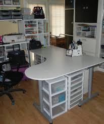 desk crafting desk with storage within amazing ana white modern