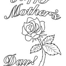 coloring pages mothers day flowers happy mothers day coloring page for kids batch coloring
